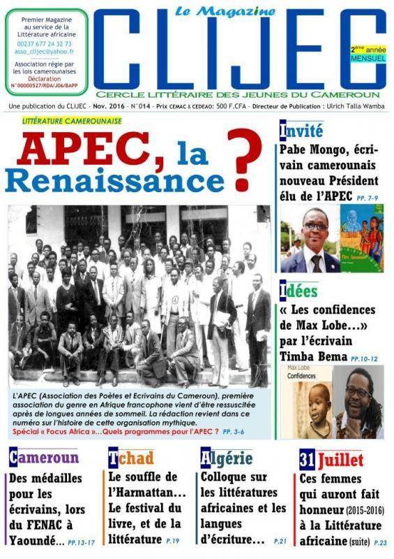 Magazine novembre clijec2