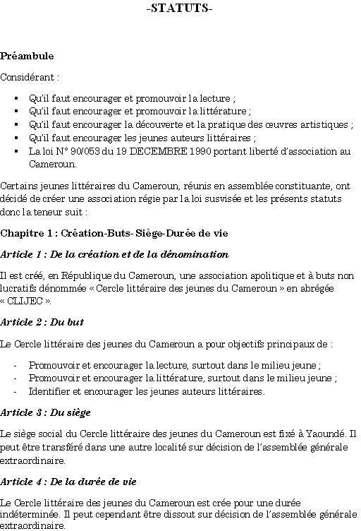 Page 1-Statuts du CLIJEC